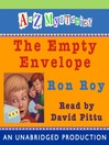 The Empty Envelope (MP3): A to Z Mystery Series, Book 5